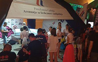 Успешан наступ Агенције на EXIT фестивалу | Agencija za bezbednost saobraćaja