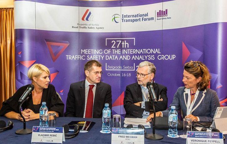 27. заседањe Међународне групе за податке и анализе безбедности саобраћаја ИРТАД-а, у Београду   Agencija za bezbednost saobraćaja