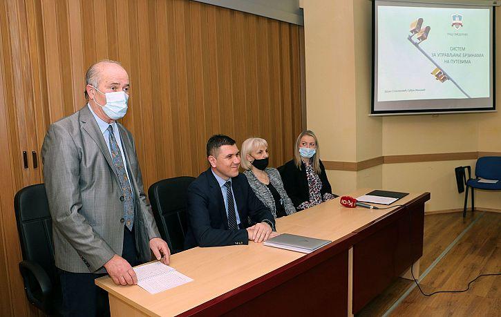 Predstavljen sistem video nadzora za automatsku detekciju saobraćajnih prekršaja u Smederevu   Agencija za bezbednost saobraćaja