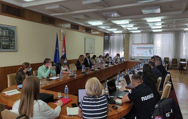 Održana obuka za korišćenje lokalnih baza podataka o obeležjima bezbednosti saobraćaja u Beogradu | Agencija za bezbednost saobraćaja