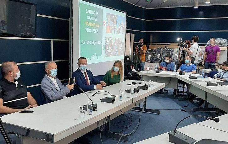 Обука за родитеље о употреби дечијих ауто-седишта у Новом Саду | Agencija za bezbednost saobraćaja