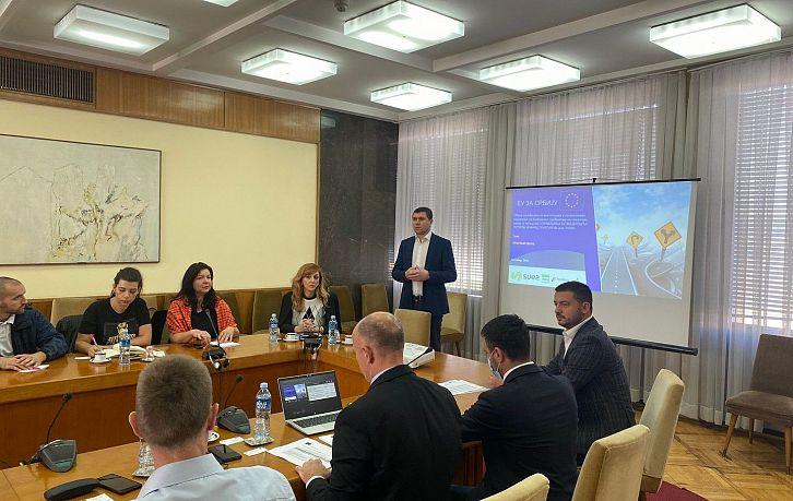 Унапређење безбедности путне инфраструктуре,  Београд и Крагујевац, 04.10. и 05.10.2021. године   Agencija za bezbednost saobraćaja