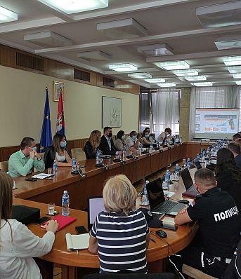 Одржана обука за коришћење локалних база података о обележјима безбедности саобраћаја у Београду